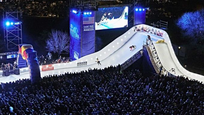 Red Bull Crashed Ice - Saturday at Fenway Park