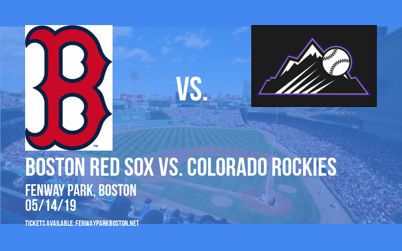 Boston Red Sox vs. Colorado Rockies at Fenway Park