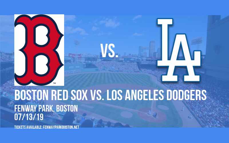 Boston Red Sox vs. Los Angeles Dodgers at Fenway Park