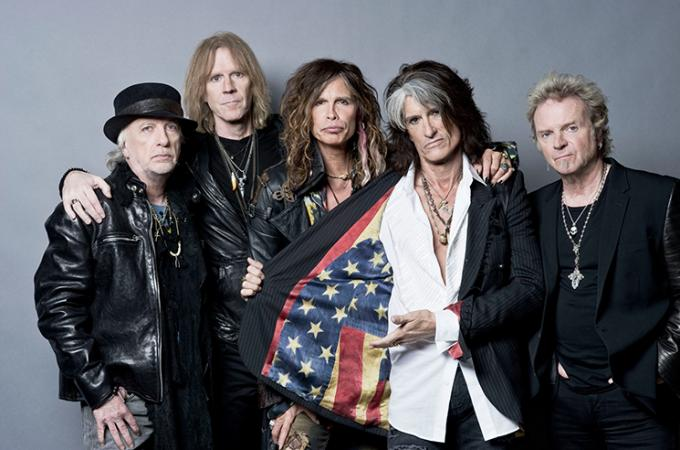 Aerosmith at Fenway Park