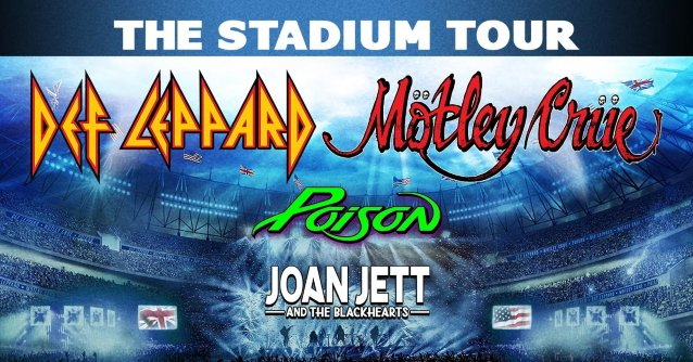 The Stadium Tour: Motley Crue, Def Leppard, Poison & Joan Jett and The Blackhearts at Fenway Park