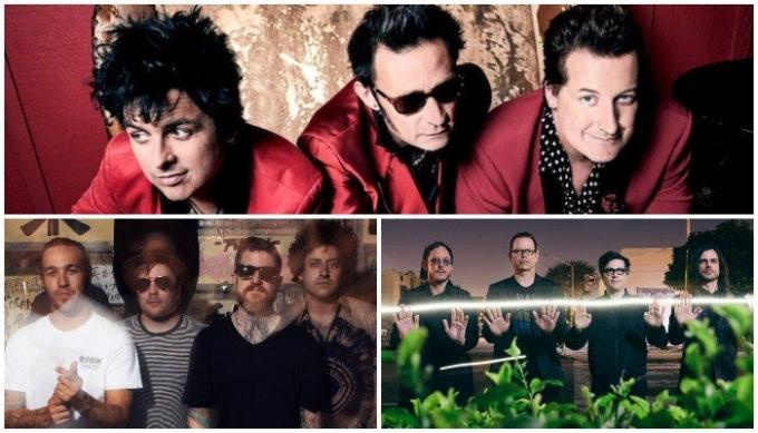 Hella Mega Tour: Green Day, Fall Out Boy, Weezer & The Interrupters at Fenway Park