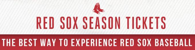 2021 Boston Red Sox Season Tickets at Fenway Park