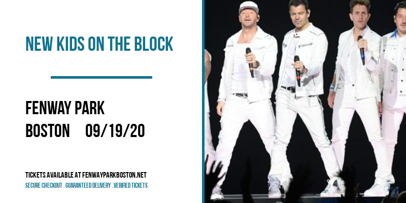 New Kids On The Block [CANCELLED] at Fenway Park