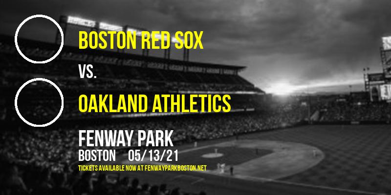 Boston Red Sox vs. Oakland Athletics [CANCELLED] at Fenway Park