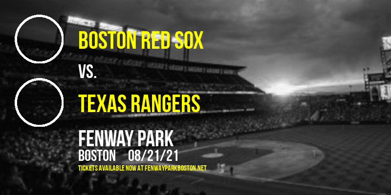 Boston Red Sox vs. Texas Rangers [CANCELLED] at Fenway Park