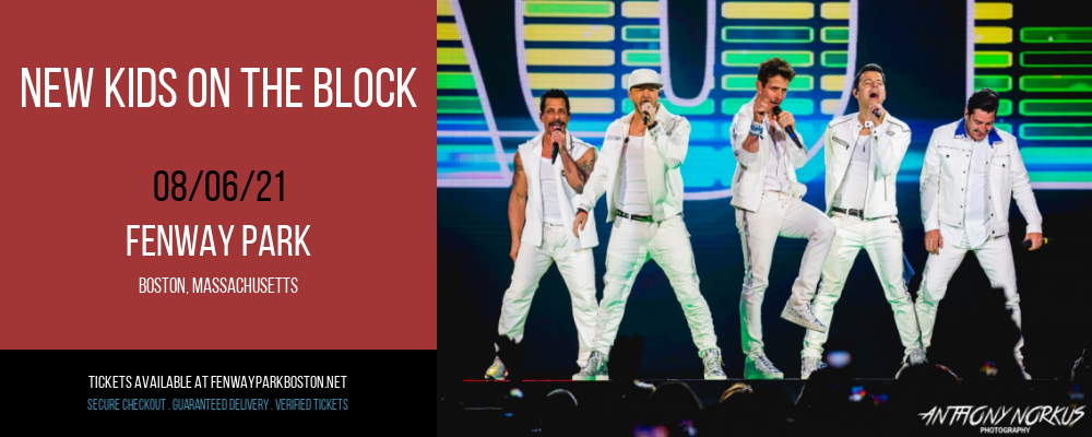 New Kids On The Block at Fenway Park