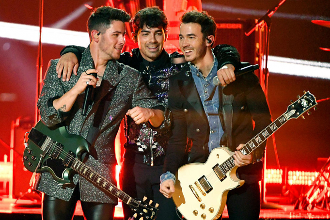 The Jonas Brothers at Fenway Park