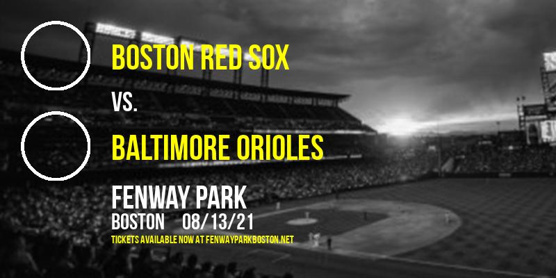 Boston Red Sox vs. Baltimore Orioles at Fenway Park