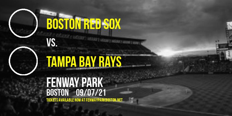Boston Red Sox vs. Tampa Bay Rays at Fenway Park