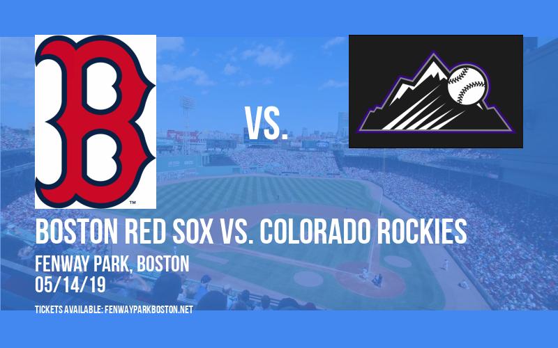 Boston Red Sox vs. Colorado Rockies at Fenway Park