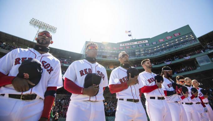 Boston Red Sox vs. San Francisco Giants at Fenway Park