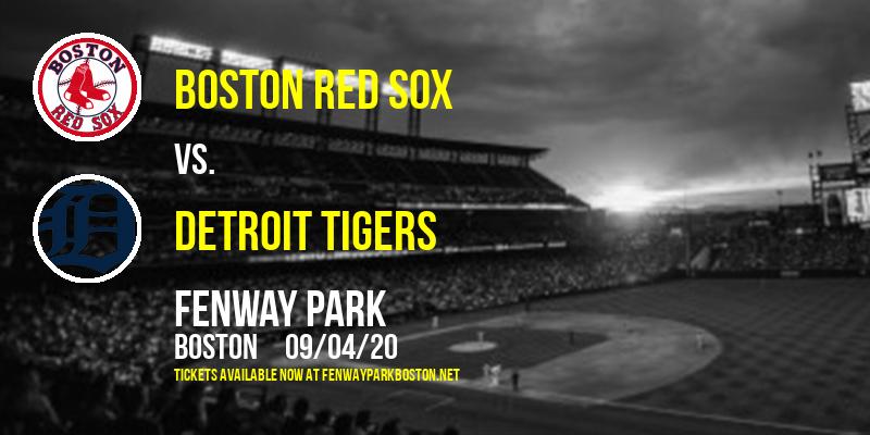 Boston Red Sox vs. Detroit Tigers at Fenway Park